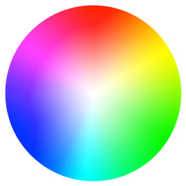 Color wheel for photography